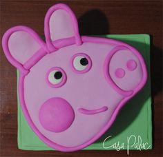 Pepa pig / fondant cake