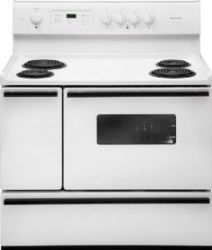 Frigidaire 40 Freestanding Electric Range W Coil Elements Sears Outlet