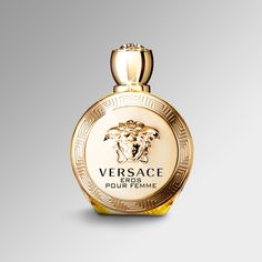 Give her a touch of strength, individuality and seduction, all in a fragrance. Explore the scents of #Versace on versace.com #VersaceFragrances