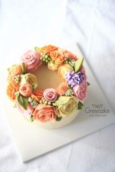 꽃케이크 - 케이크주문제작 : 네이버 블로그