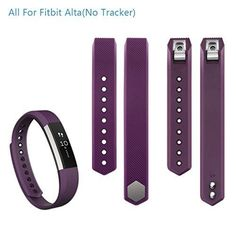 PERFECT-PLUM-PURPLE-Small-New-Wristband-Band-Bracelet-Accessory-For-FITBIT-ALTA