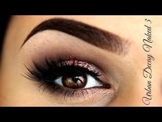 ▶ UD NAKED 3 PALETTE | MAKEUP TUTORIAL - YouTube **DONE 8/15/14** **Love it! so pretty