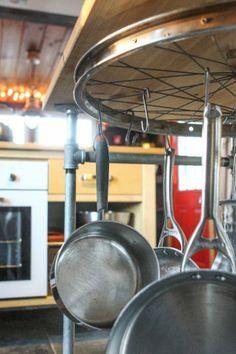 24 maneiras de aproveitar peças velhas de bicicletas na decoração