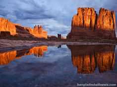 Arches National park was located in Utah here have 2000 arch.United States has 59 protected areas and all area known as national parks that are operated.