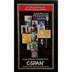 American presidents life portraits c span two volume vhs movie history