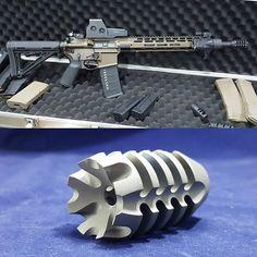 FB-23 titanium comp. Originally designed to tame 50 beowulf's and 458 Socom's…
