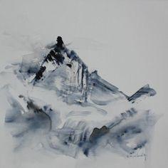 3984 mètres Mount Everest, Illustration, Nature, Travel, Painting, Art, Mountain, Art Background, Naturaleza