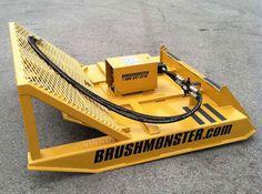 Skid Steer Attachments | Brush Mower for Skid Steer