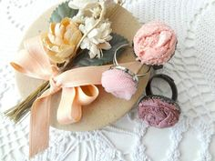 DIY Lace and Tulle Rosettes Tutorial | Little Treasures | Bloglovin'