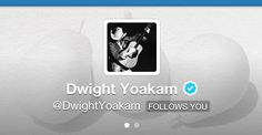 I'm so lucky to have Dwight following me on Twitter! :)