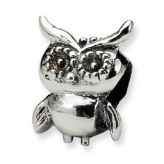 Sterling Silver Reflections Kids Owl Bead Real Goldia Designer Perfect Jewelry Gift for Christmas goldia. $11.98
