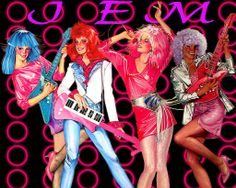 Jem & The Holograms...truly, truly, truly outrageous ;)