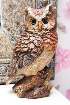 Pöllöpatsas (iso) - Kananlento/Osuuskunta Orrella Owl, Bird, Craft, Owls, Birds