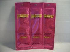 """3 packets JWOWW One and Done Advanced Black Bronzer .5oz by Australian Gold. $13.99. Advanced DHA and black walnut bronzers. Essential oils moisturize skin. After tan odor eliminators. Yogurt base, pear and black currant oils for smooth skin. Vitamin E and shea butter keep your skin looking young and vibrant. Advanced Black Bronzer with DHA Melanin Enhancers and Natural Bronzers We're upping the """"WOW"""" factor with this super-advanced One And DoneTM Bronzer. Get ..."""