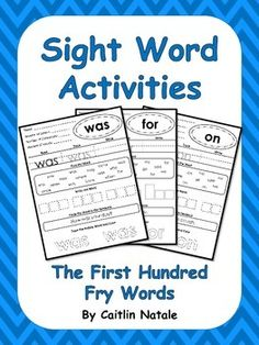 157 Best Fry First 100 Words Images Fry Sight Words Teaching