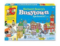 "Richard Scarry's Busy Town: Toys & Games (via @Tracy Benjamin: ""We're quite obsessed with playing Richard Scarry's Busy Town game at home. It's a great way to teach teamwork."")"