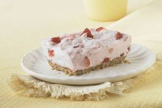 This creamy strawberry no-bake cheesecake will be a sure winner at your next gathering.