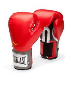 Red Pro Style Training Gloves - Everlast