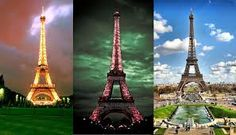 The Eiffel Tower is an iron construction of 300 meters high which was created for the Universal Exhibition in Paris in 1889. Currently is the most representative symbol of Paris.