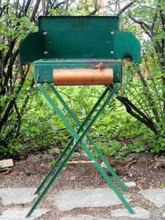 Coleman Stove Stand by ChestnutStSmallHouse on Etsy, $25.00 Camping Equipment, Camping Gear, Coleman Stove, Small House Living, Retro Camping, Outdoor Stove, Coleman Camping, Gas Lanterns, Food Storage Boxes