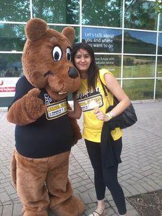 Ayushi in at her University in UK.