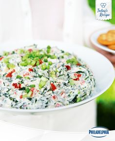 Dip celery or carrots into this spinach and cheese dip and you can call it skinny dipping.