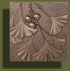 Bronze Arts and Crafts Tiles