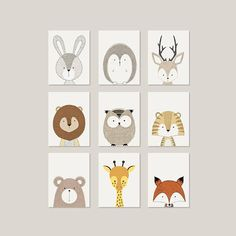 Nursery Wall Art Animals Nursery Wall Art Printable Wall Art
