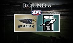 Australian Football League (AFL) Round 5 West Coast Eagles vs  Port Adelaide, Patersons Stadium, Saturday April 19, 7.40 pm (AEST).  The Eagles are looking to atone for horrific 75-point loss to Geelong last Saturday night. Power destroyed the Brisbane Lions and will seek to carry on the momentum of that 113-point win. Port Adelaide does not have a good recent record Patersons stadium. West Coast Eagles, Australian Football League, Eagles Vs, April 19, Saturday Night, Perth, Things That Bounce, Cats, Travel