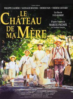 Le Château de ma Mère, a sequel to la Gloire de Mon Père, set in Provence, Marcel Pagnol's loving tribute to his mother.
