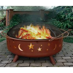 Found it at Wayfair - Super Sky Steel Wood Burning Fire Pit