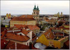 Eger, Hungary, a very beautiful city.