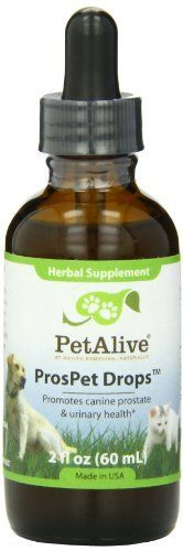 PetAlive ProsPet Drops for Pet Prostate Health, (60ml) >>> Learn more by visiting the image link.