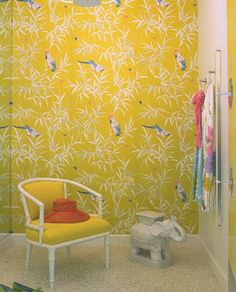 Trina Turk Fitting Room in Palm Springs by Kelly Wearstler