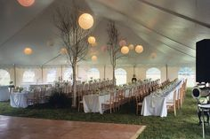 Vermont Tent Wedding Reception by Barnard Inn, via Flickr