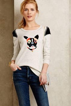 Frenchie Pullover - anthropologie.com