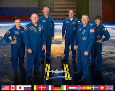 Expedition 41 crew portrait