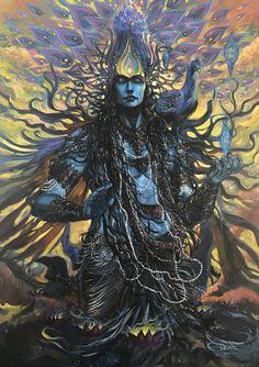Arte Shiva, Shiva Tandav, Rudra Shiva, Lord Krishna, Lord Shiva Hd Wallpaper, Lord Vishnu Wallpapers, Angry Lord Shiva, Fantasy Character, Shiva Tattoo