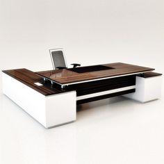 Bàn trưởng phòng, Nội thất văn phòng VinWood Executive Office Desk, Ceo Office, Modern Office Desk, Office Seating, Office Table Design, Office Furniture Design, Luxury Office, Office Reception, Study Office
