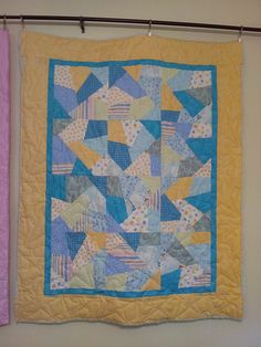 #Baby boy quilt, via Flickr.