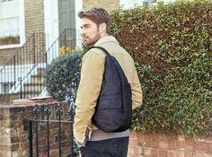 Mサイズ - 人間工学による「しずく型」で荷物も体も軽くなるから、お出かけが増えるボディバッグ|Healthy backBag