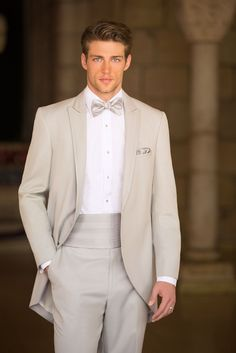 Hello, handsome. The Allure Men tuxedo comes in a shade perfect for your man (along with all the accessories). @weddingwire