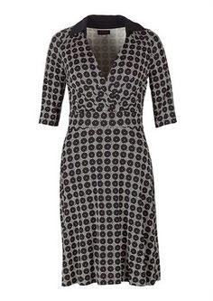 Avoca dress ABIGAIL COLLAR black