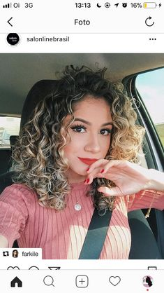 Amazing blonde teen with curly hair posing dessert