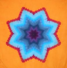 Desert Dyeworks: Star Mandala Tutorial Part 1- Folding **THIS IS AN AMAZING SITE!!**