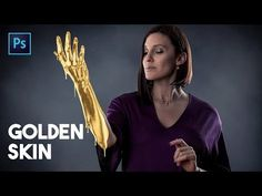 Golden Skin Effect in Photoshop - YouTube