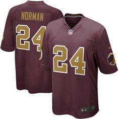 Washington Redskins Josh Norman Nike Burgundy Alternate Game Jersey