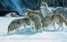 Animal Paintings, Animal Drawings, Wolf Drawings, Wolf Life, Wolf Artwork, Wolf Painting, Wolf Photos, American Animals, Anime Wolf