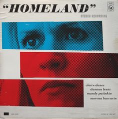 12 Retro Jazz Record Cover Design for Homeland