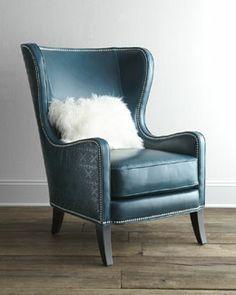 "H6MHJ Massoud ""Glenmore"" Wing Chair"